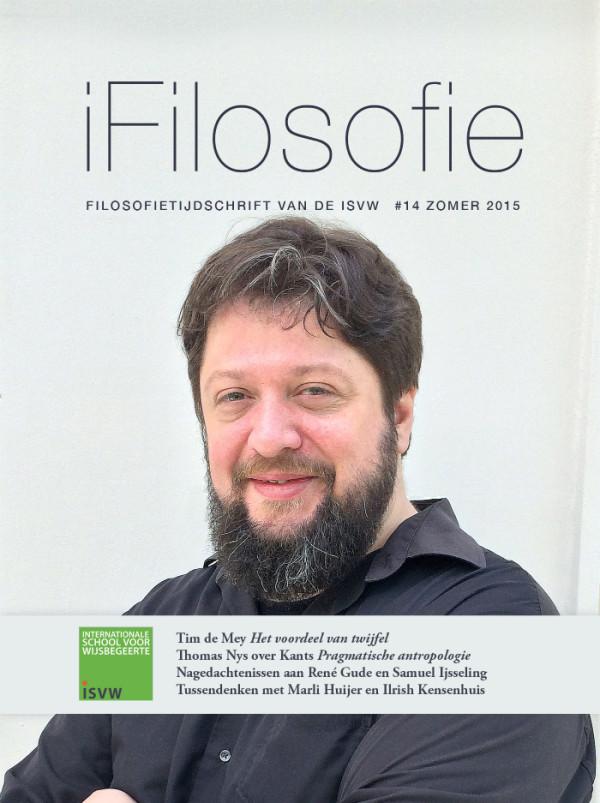 ISVW-iFilosofie #14 - Omslag