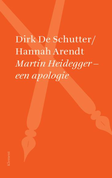 ISVW-iFilosofie #16 - Dirk De Schutter / Hannah Arendt, Martin Heidegger - een apologie