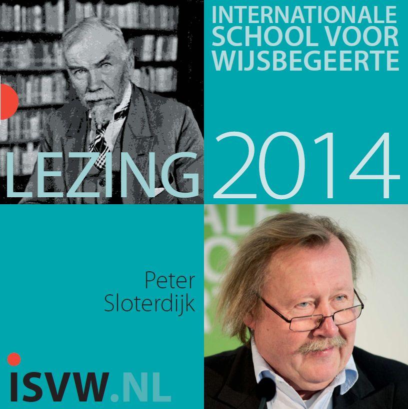 ISVW-iFilosofie #6 - 4e Van Eedenlezing met Peter Sloterdijk 2014
